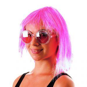 Cette perruque sera idéale pour accompagner votre déguisement disco lors d'une fête entre amis.