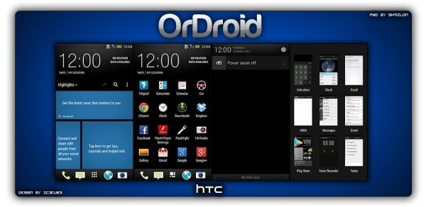 How to Install OrDroid Android 4.1.2 on HTC One Jelly Bean Custom ROM