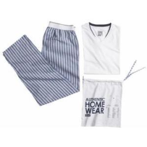 Pyjama Homme Bleu Rayé, Pyjama idéal pour cocooning le week-end ! Pantalon élastiqué à la taille et et T-shirt col V et manches courtes... sur www.shopwiki.fr !  #pyjama_homme #vetement_homme