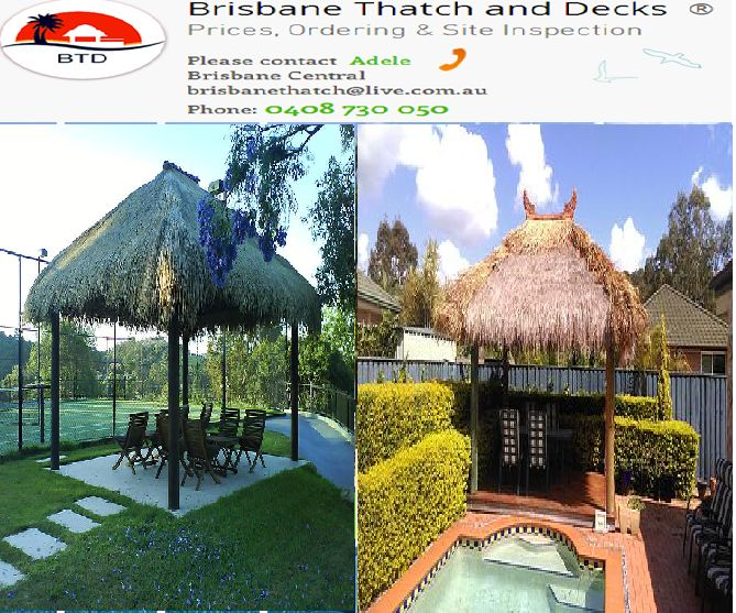 We, Brisbane Thatch & Decks, work through our team of specialised, licensed installers of bali huts. Our services are termed as friendly, professional and reliable. Besides, the huts are made of quality materials, and their customization, according to individual needs, can be well met by us. Rely on us!