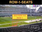#Ticket  4 Front row Denver Broncos at Cincinnati Bengals tickets sec 144 row 1 Aisleseat #deals_us