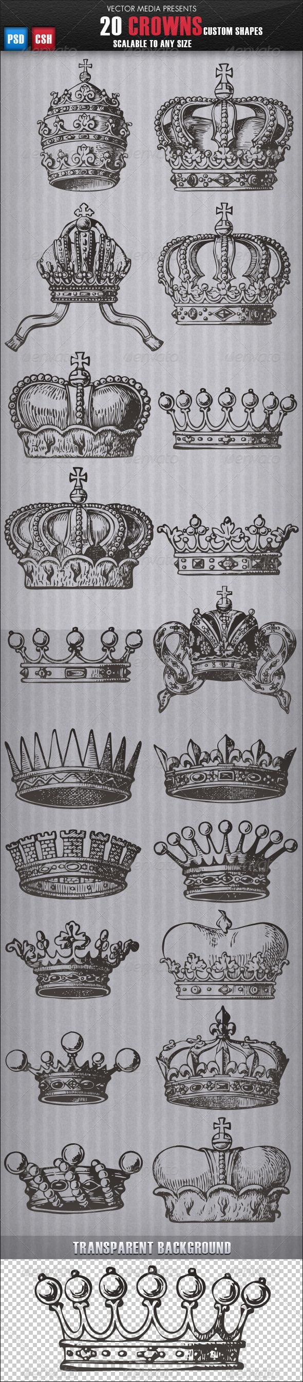 Tattoo Inspiration... Crowns