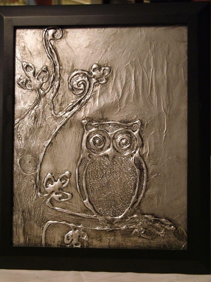 Foiled Again: DIY Pressed Metal Art   Red Door Review