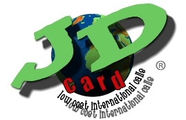 JD card is a cheap call access service to make a cheap international call. You do not need calling cards, pin numbers, cash to pay online, credit cards or registration. Unlimited calls to 50 destinations for just £10.