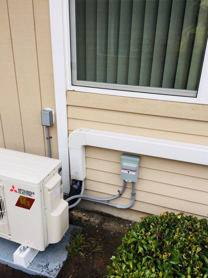 Mitsubishi Heat Pump Circuit Run Heat Pump Lakewood Lake Tapps