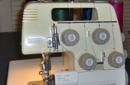 We believe this 2, 3, 4 thread/1, 2 needle Bernina Bernette 334D portable serger might be a bit challenging for someone who never used a serger before, but once clearing that hurdle, they will be more than pleased with it. The color coded threading guide is very helpful, but we found the tension adj…