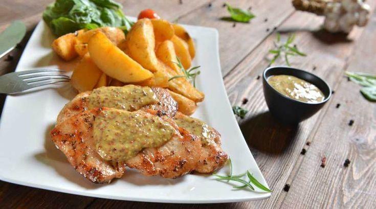 Roast chicken and potatoes and sweet potatoes http://thefitbusymum.com.au/chicken-garlic-roasted-sweet-potatoes-recipe/