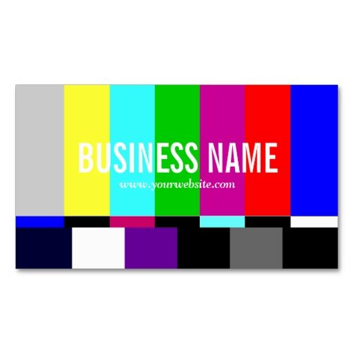 62 best work business cards images on pinterest visit cards colorful tv spectrum business card make your own business card with this great design reheart Choice Image