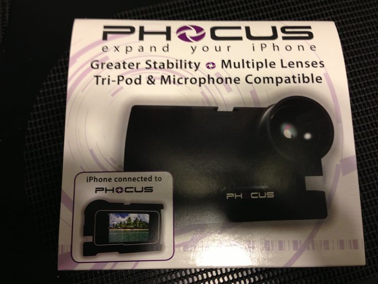 This is a slick idea | Phocus Accent iPhone Camera Accessory For iPhone 5/4/4S Review @smartphocus
