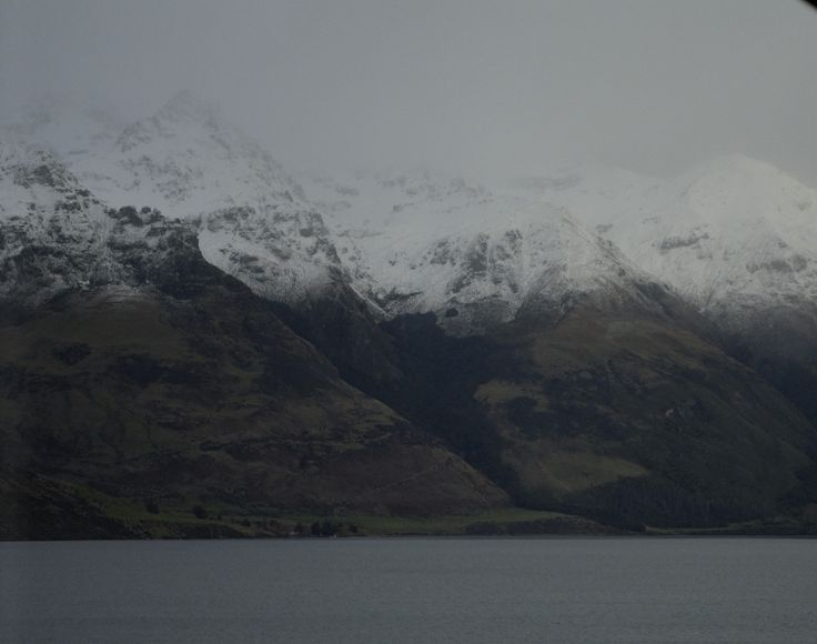 View of The Remarkables from our accommodation at Queenstown