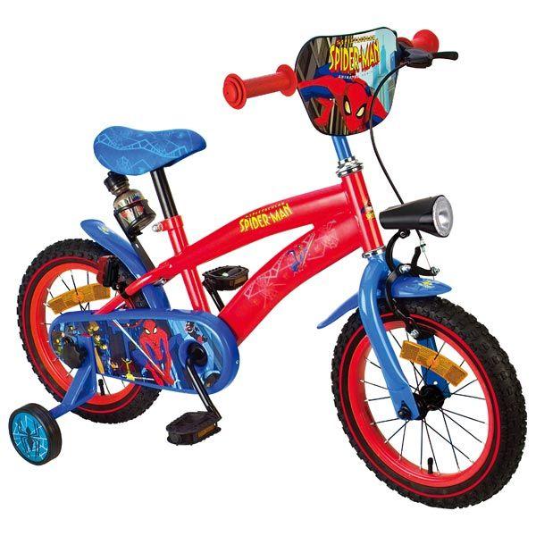 Jeux en plein air - Vélo Spiderman - à partir de 4 ans