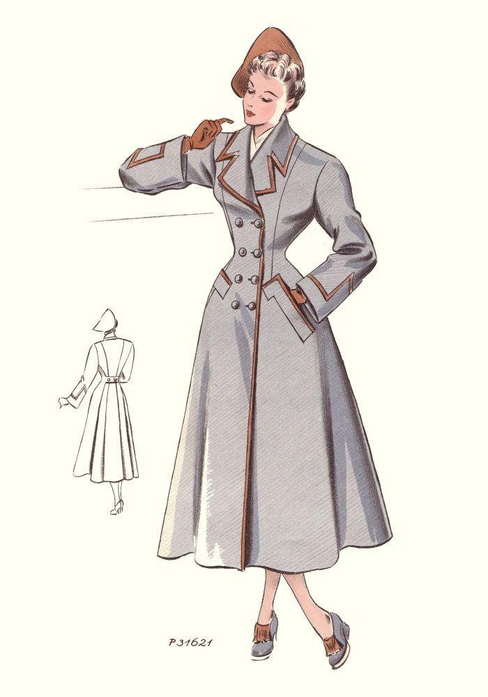 38 Best 1940s Coats Images On Pinterest Vintage Fashion Fashion Vintage And Vintage Clothing