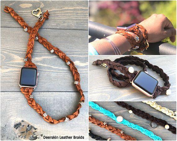 Leather Diy Watch Strap Tutorial Apple Watch Bands Women Apple