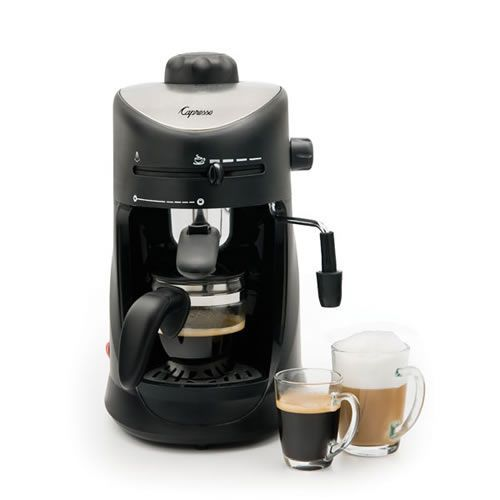 Buy the Jura-Capresso 4 Cup Espresso and Cappuccino Machine for coffee shop quality specialy coffee drinks made in the comfort of your own home.