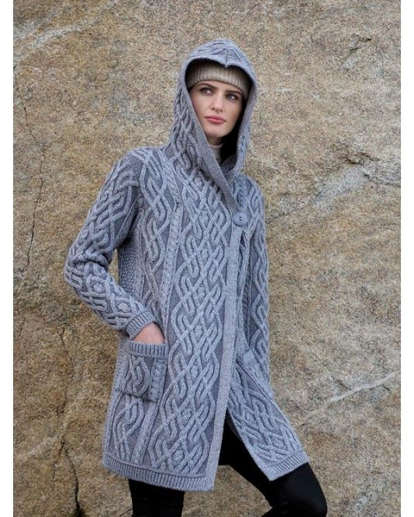 Aran Crafts offer a beautiful selection of ladies' Irish sweaters. Find  traditional designs such as women's cable knit sweaters here, made using  quality ...