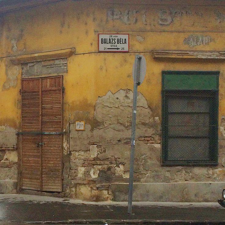 budapest, balázs béla utca