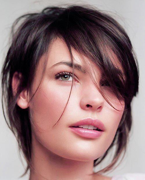 Frisur für dünnes, glattes Haar Foto - 2