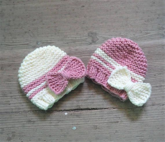 newborn hat baby hat newborn hospital hat  toddler twins