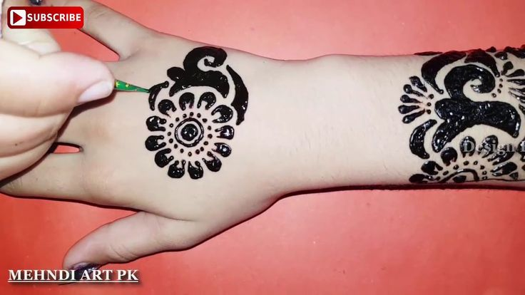How to apply new latest henna mehndi designs for hands for Weddings, Eid...