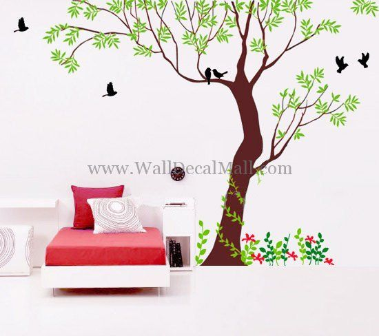 Best Tree Of Life Wall Stickers Decals Images On Pinterest - Wall decals nature and plants