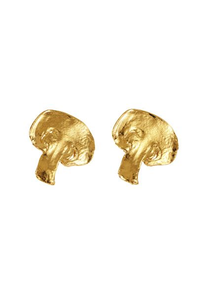 Lucy Folk presents PIZZA - NH: Fall 13 / SH: Autumn/Winter 13 - 'SHROOM EARRINGS