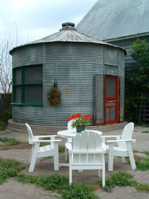 Repurposed silo