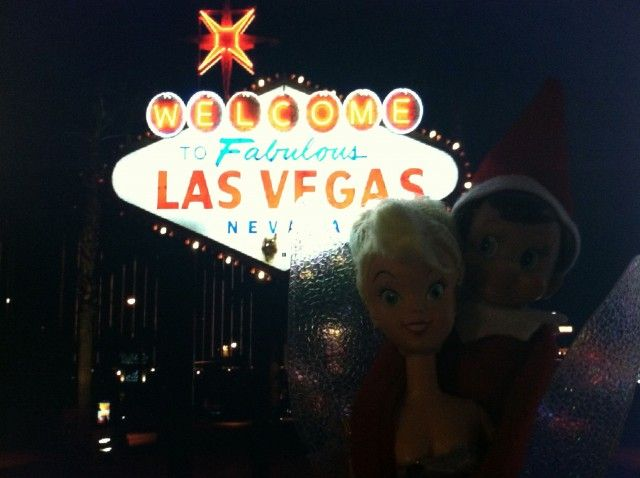 Elf in Vegas with the tooth fairy