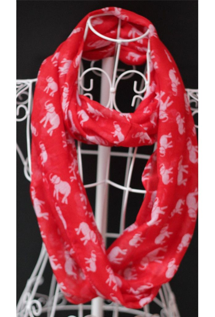Limited Edition Elephant Scarf - Buy 1 Get 1 Free
