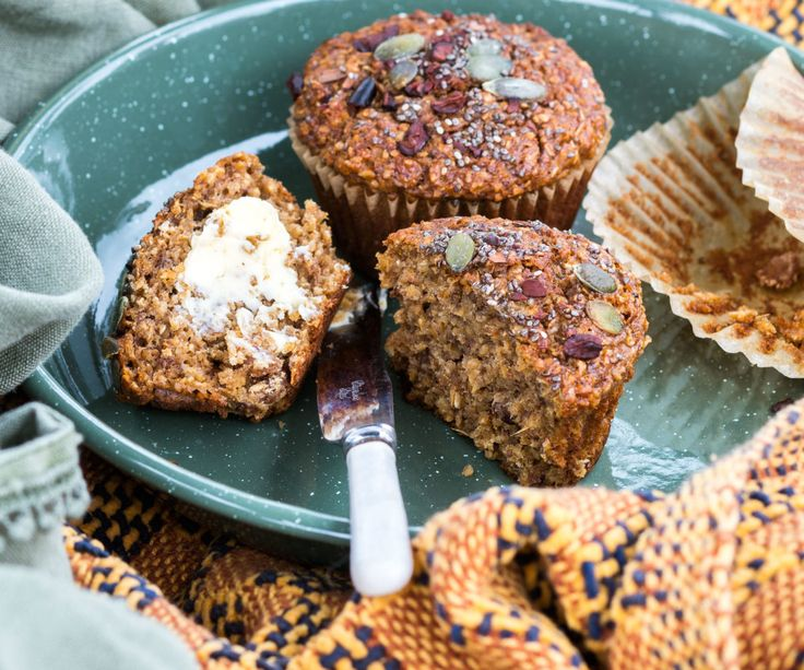 Great-start-to-the-day banana bran muffins By Nadia Lim