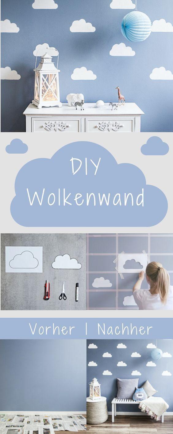 Himmlisches DIY: Wolkenwand – Sofia Xaidou – Kinderzimmer