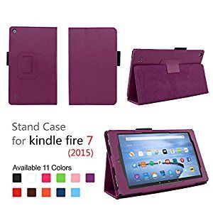 Case for Fire 7 2015 - Folio Case with Stan... by Elsse for $7.89 http://amzn.to/2golUe1