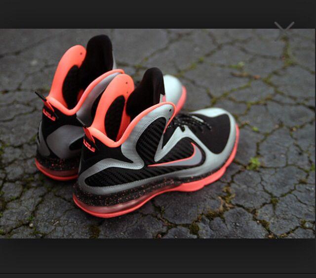 Nike LeBron 9 Bright Mango New Detailed Pics Metallic Silver Metallic Silver  Bright Mango 469764 005