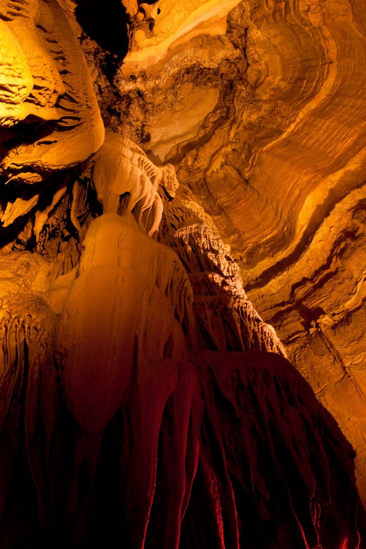 Mammoth Cave, Kentucky  One of the 7 wonders of the world.....  Beautiful & been there several times!!