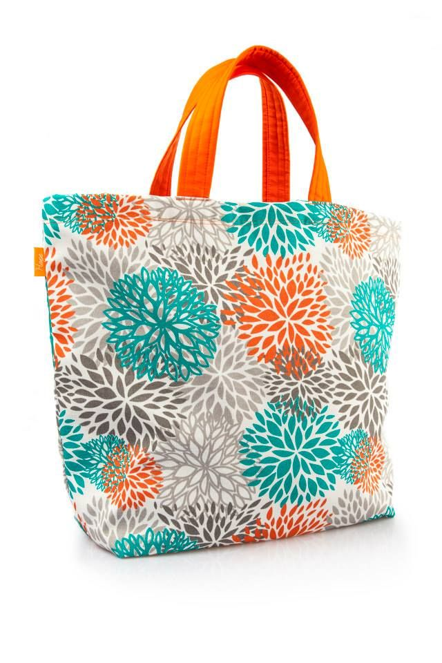 Saco de Praia Orange  Dimensões: Largura 53 cm x Altura 40 cm  As alças do saco são personalizáveis em dois tamanhos...Alça de mão e ombro.