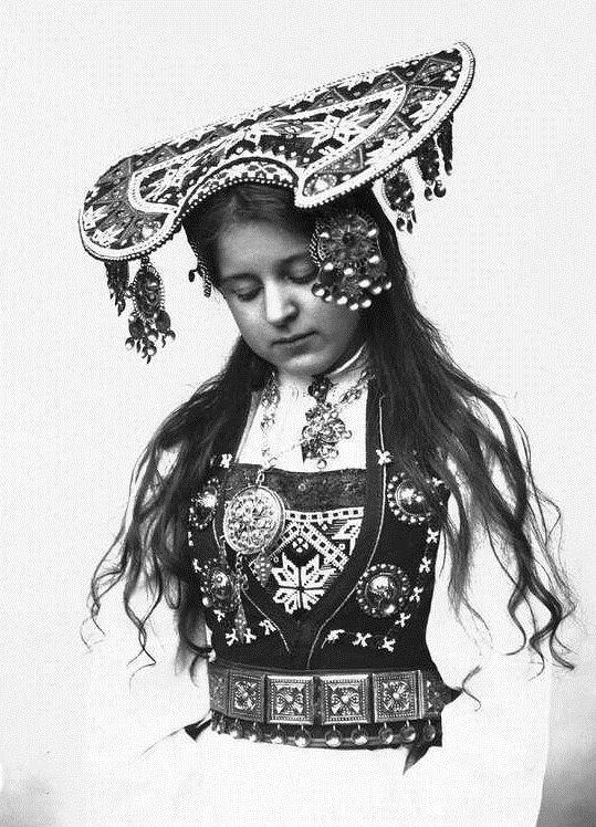 Norwegian traditional costumes
