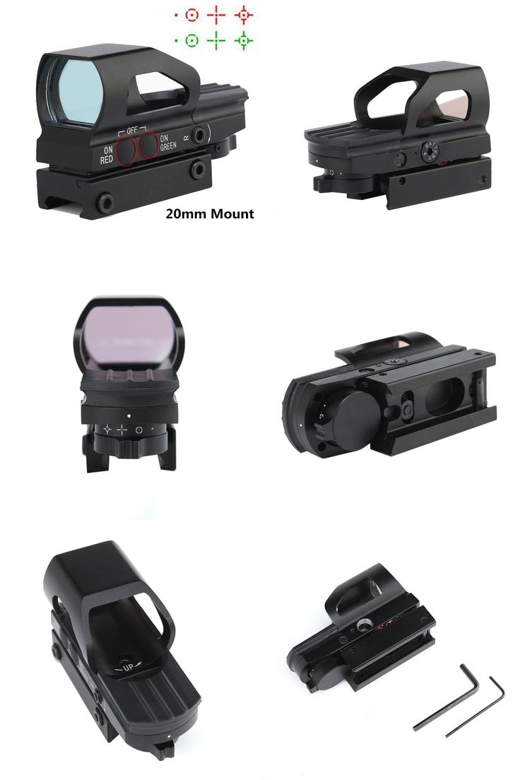[Visit to Buy] 1x23x34 Hunting Airsoft Optics Red Dot Scope Tactical Optics Air Guns Pistol Sight Scopes Chasse Holographic Red Dot Sight #Advertisement