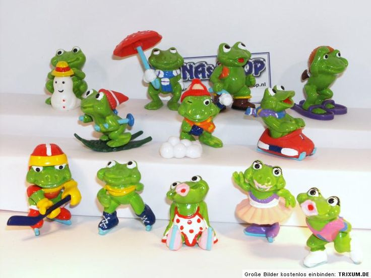 Kinder Surprise Frosty Frogs