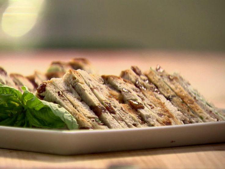 Turkey Tea Sandwiches recipe from Ina Garten via Food Network