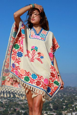 1970s Vintage Mexican Poncho – Honeywood