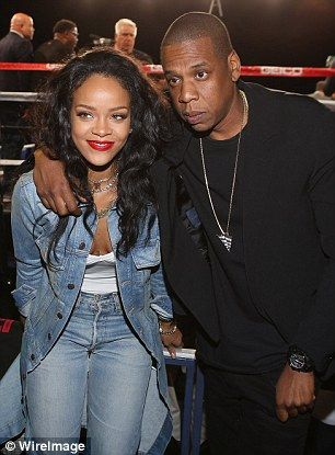 More than a working relationship? Years ago there were rumours of a tryst between the 45-year-old rapper and one of his artists Rihanna but it is insisted in the book that the affair rumours were false