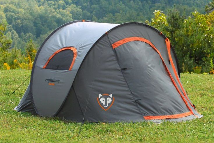 Rightline Gear Pop Up Tent - The Rightline Gear Pop Up Tent provides you with camping in an instant. The same design functionality used for windshield shade screens has now been brought to the tent world with amazing results. Set up a tent in one minute's