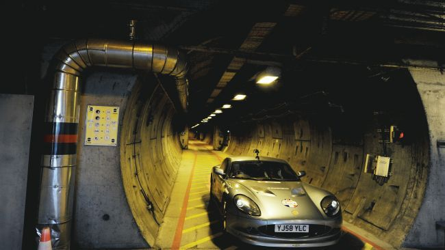 The Channel Tunnel, France/United Kingdom is Europe's longest undersea tunnel. The more than 30-mile-long Chunnel carries high-speed trains  under the English Channel's Strait of Dover, where it reaches a depth of some 250 feet below sea level.