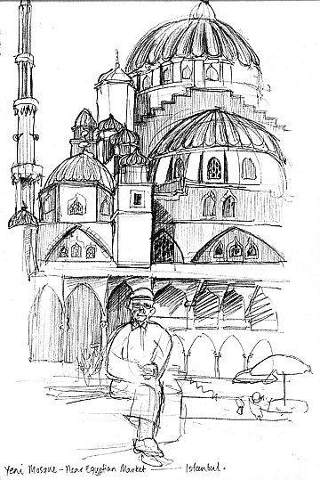 https://flic.kr/p/81TmWB | Yeni Mosque, Istanbul '91