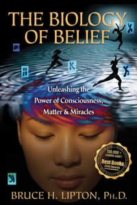 'The Biology of Belief' by Bruce Lipton - this is an essential book for discovering how your cellular structure is affected by what you think and feel, and the scientific facts about DNA and heredity. All explained in easy language by an inspirational and inspired cell biologist.