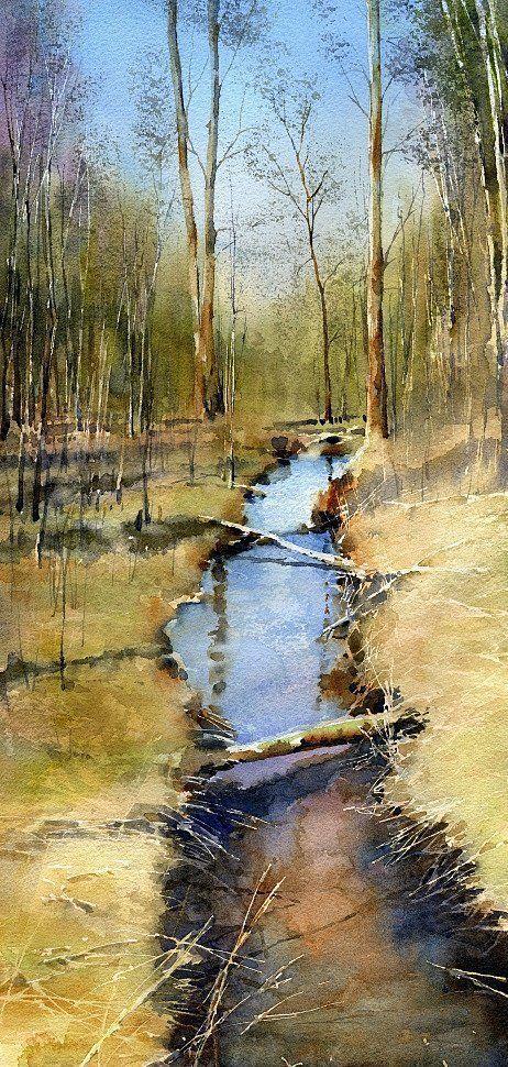 Тупоршин Владимир — акварели и рисунки #watercolorarts