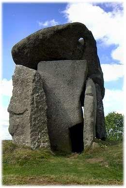 Trethevy Quoit, Portal Dolman Bodmin Moor, Cornwall. It's huge