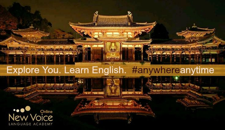 Explore You. Learn English.