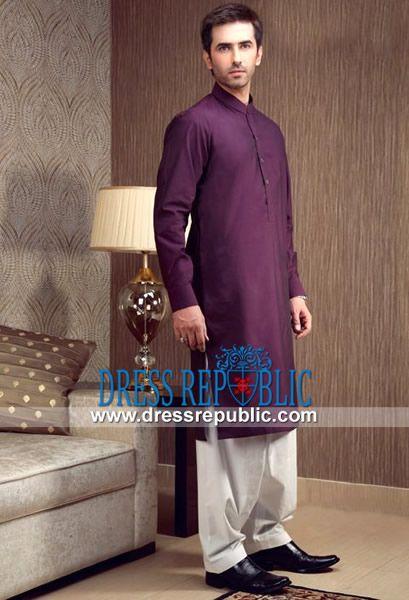 Mens Purple Pajamas Breeze Clothing