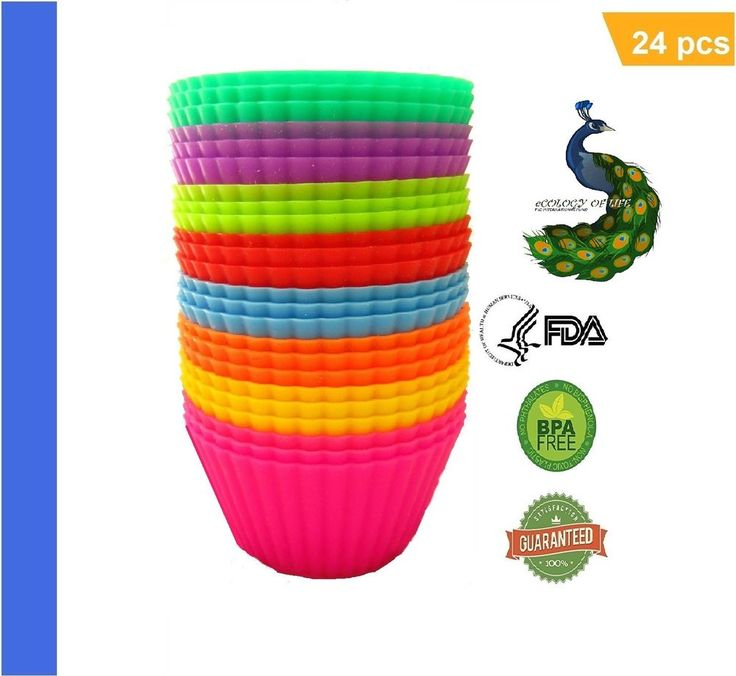 SILICONE CUPCAKE LINERS BASK IN THE SUN CUPCAKE | Silicone Baking Cups #BASKINTHESUNCUPCAKE