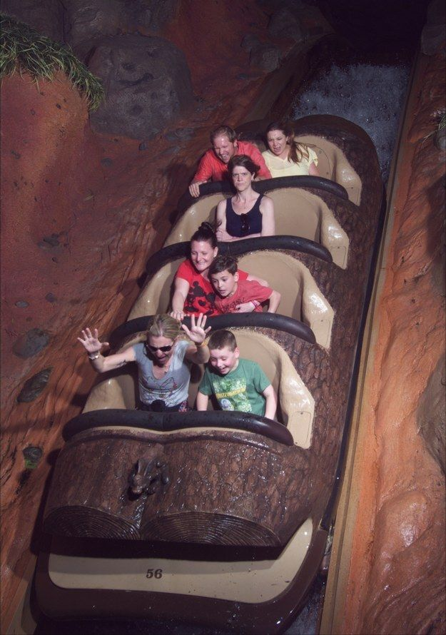 splash mountain pics - angry lady